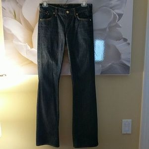 CITIZENS OF HUMANITY bootcut jeans, size 24